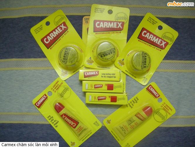 Toan quoc Son duong Carmex cho moi xinh mua dong nhe cac nang