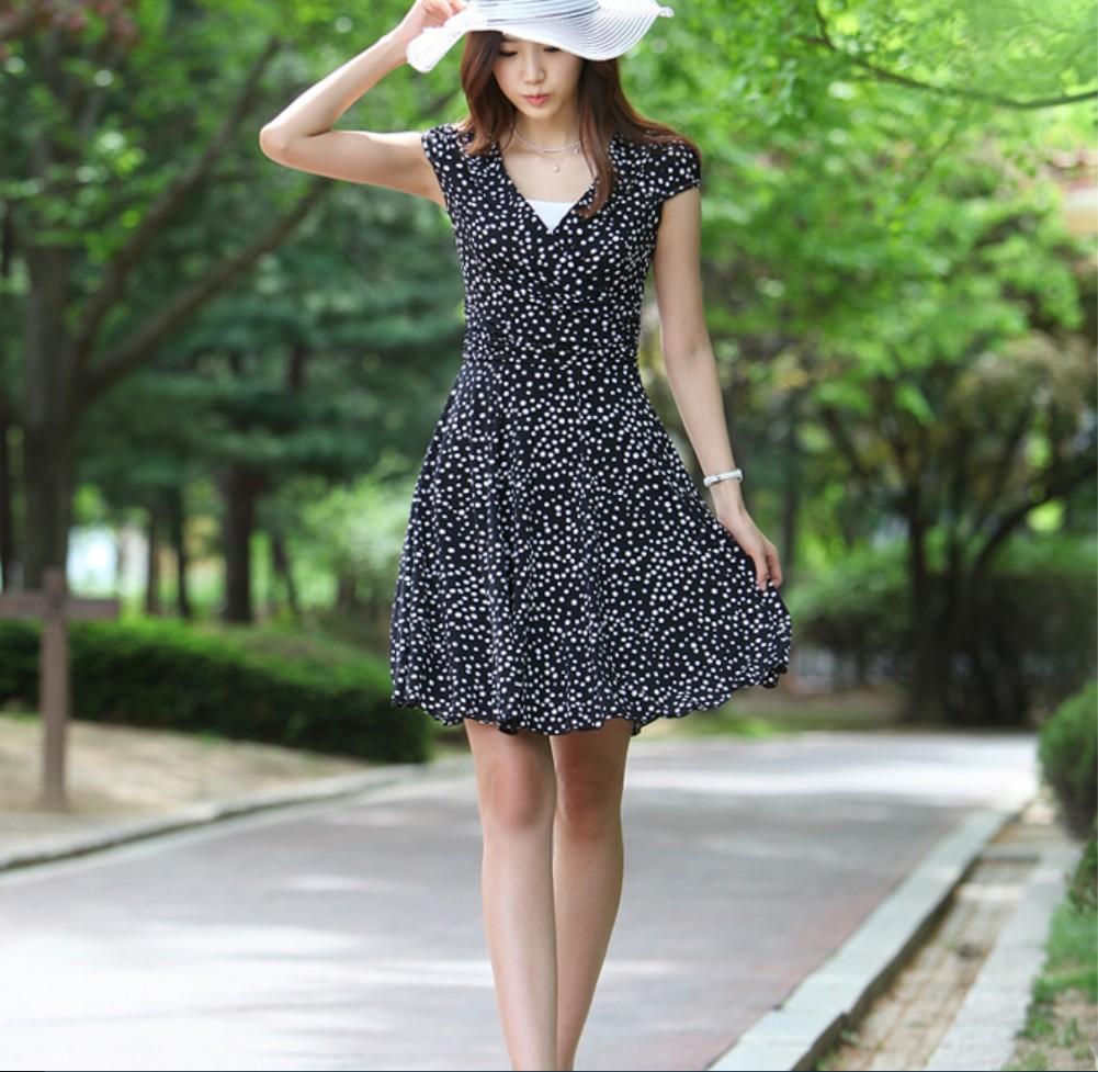 Váy liền thân, thời trang váy liền thân mùa hè | ÉnBạc.