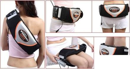 Đai massage rung nóng giảm mỡ bụng, đai mát xa giảm béo, đai rung quấn nóng