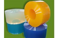 Vách ngăn màn nhựa PVC tron, trơn, mềm, mịn.