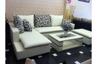 Nội thất cao cấp LuxuryHome - Bộ sofa góc da mã LH-LCS27.