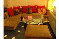 Nội thất cao cấp LuxuryHome - Bộ sofa góc nỉ mã LH-FCS30A.