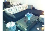 Nội thất cao cấp LuxuryHome - Bộ sofa góc nỉ mã LH-FCS54.