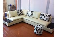 Nội thất cao cấp Luxury Home - Bộ sofa góc da mã LH-LCS19.