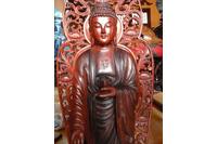 Tượng Phật A Di Đà tam tôn.