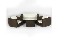 Sofa cafe mây nhựa nhẹ nhàng lịch sự LT 215 E.