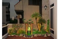 Thiết kế tiểu cảnh - sân vườn.