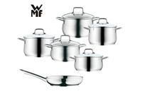 Bộ nồi WMF Brilliant 5 nồi + 1 chảo dùng cho bếp từ.