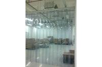 Rèm ngăn lạnh điều hòa PVC, màng ngăn PVC ngăn bụi, mùi, côn trù.