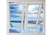 Cửa sổ hất ra ngoài, cửa nhựa lõi thép Austwindow.