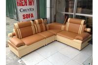 R03 Sofa góc( kích thước 1,7mX2,2m) giá: 3.450.000/bộ.