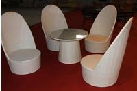 bàn ghế nhựa giả mây giá cực rẻ .