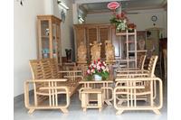 sofa gỗ hiện đại, sofa gỗ đệm khuyến mãi cuối năm chỉ 15 tri.