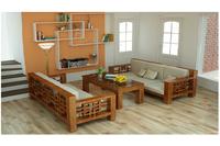 sofa gỗ tự nhiên, sofa gỗ sồi khuyến mãi tết chỉ có 15 triệu.
