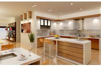 MSP 012 : Tủ bếp Laminate  hiện đại sang trọng.