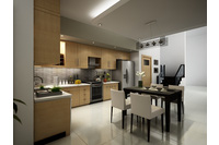MSP : Tủ bếp phong cách trẻ.