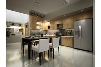 MSP058: Mẫu tủ bếp mới 2014.