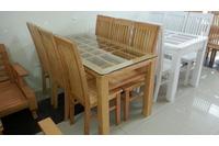 bộ bàn ăn cao cấp GBA039.