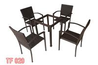 Bàn ghế cafe, bàn ghế sân vườn TF 020.