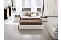 MSP 112 giường ngủ gỗ tự nhiên sồi nga.