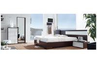 MSP 113 giường ngủ gỗ tự nhiên sồi nga.