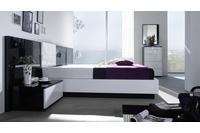 MSP 117 giường ngủ gỗ tự nhiên sồi nga.
