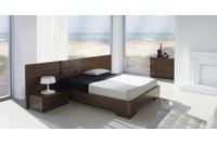 MSP 119 giường ngủ gỗ tự nhiên sồi nga.