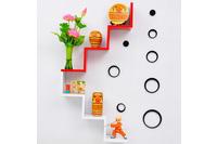 Hot!! Giảm giá 50%: Kệ treo tường, kệ trang trí đẹp Qyna hình b.