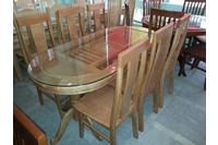 Bộ bàn ăn gỗ sồi EPA-133.