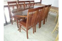 Bộ bàn ăn 8 ghế xoan đào EPA-143.