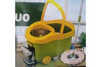 Chổi lau nhà Easy mop 360 độ lồng Inox, bàn đạp Inox cực chắ.