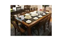MSP : QH01 Bộ bàn ăn gỗ tự nhiên sồi nga.