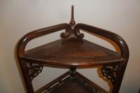 Bán kệ gỗ trắc được điêu khắc tinh xảo, hàng chuẩn đẹp 4 .