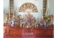 Bộ đồ thờ bằng đồng đài loan thờ cúng gia tiên - hà nội.