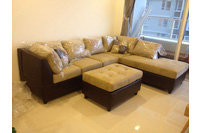 Sofa cao cấp hàng xuất US, vải microfiber nhập khẩu...