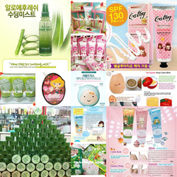 ĐẠI LA PHỐ 5 :3 CONCEPT EYES,tonymoly,the face shop,BB The face shop,Missha,snow white,tomatox,skinfood.....