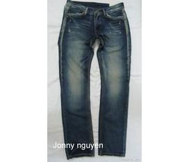 Thanh lý nghỉ ban quần áo Jean hàng new 100%: Levis, DY, D G size 28, 29, 30 Clik click