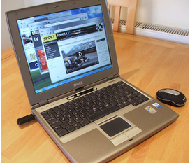 Nhượng laptop 2,9tr p4 centrino DELL D400 mỹ xịn ,bền ,đẹp ,rất nhẹ