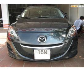 Bán Mazda 3 1.6 Sedan màu ghi đời 2010 biển 16N