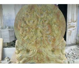 Cửu long đá cẩm thạch vàng ngũ hành sơn