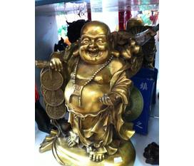 Phật di lạc bằng đồng đẹp