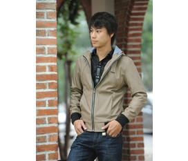 Bộ sưu tập áo khoác Da giá 395,000 VND của Men Việt Shop
