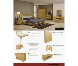 Bộ sofa tay cuốn gỗ sồi mỹ, giường, tủ áo...giá tận gốc
