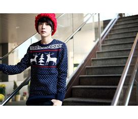 Áo len cho boy phong cách hàng tết sắp về