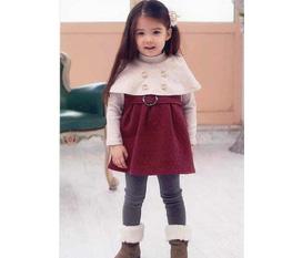 Thời trang cho bé gái đón Noel Siêu đẹp