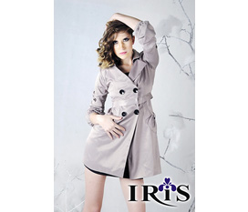 Thời trang Iris, Áo măng tô nữ MT1001, giảm giá 20 30 50% Tri ân khách hàng Noel và năm mới 2012