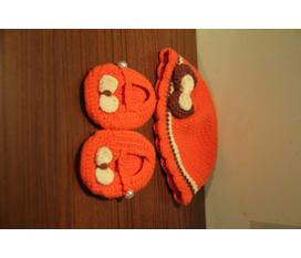 Amiko Mũ, khăn, giầy len dành cho bé sơ sinh
