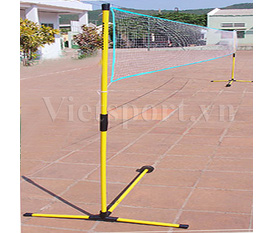 Trụ cầu lông xếp BA 530,gọn nhẹ,dễ di chuyển giá chỉ 636.000 chi tiết tại web site:vietsport.vn