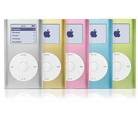 Máy nghe nhạc MP3, mẫu mã đa dạng