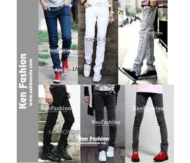Quần jean skinny phong cách bụi Bộ sưu tập HOT tháng 12/2011